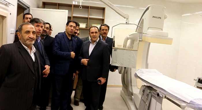 مركز آنژيوگرافي مركز جراحي قلب بيمارستان بهمن